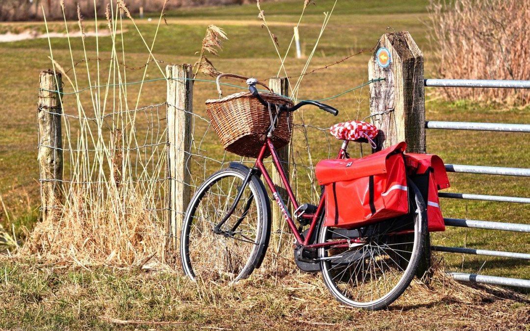 Op fietsen